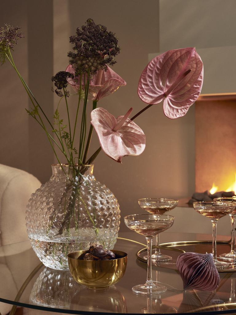 une d co de no l rose pour des f tes en douceur joli place. Black Bedroom Furniture Sets. Home Design Ideas