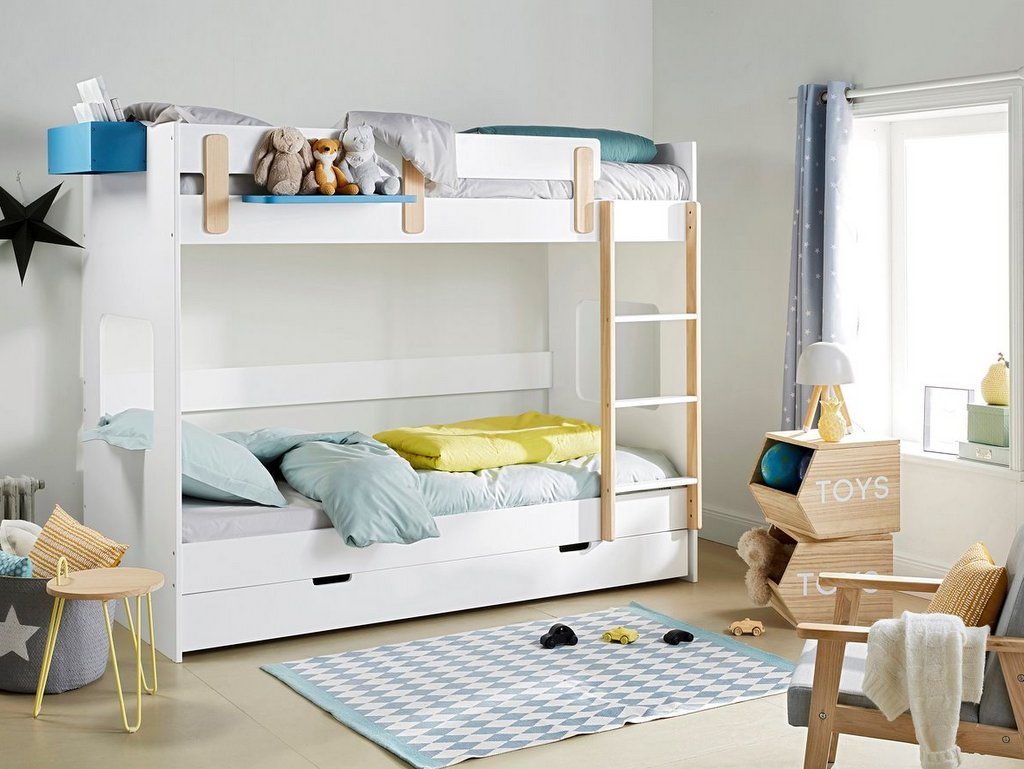 Lit Mezzanine Avec Rangement Pas Cher enfants : aménager une chambre pour 2 - joli place