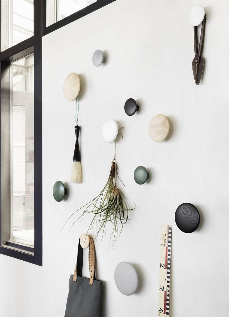 Patère ronde ou géométrique : jouez l'accumulation - Joli Place