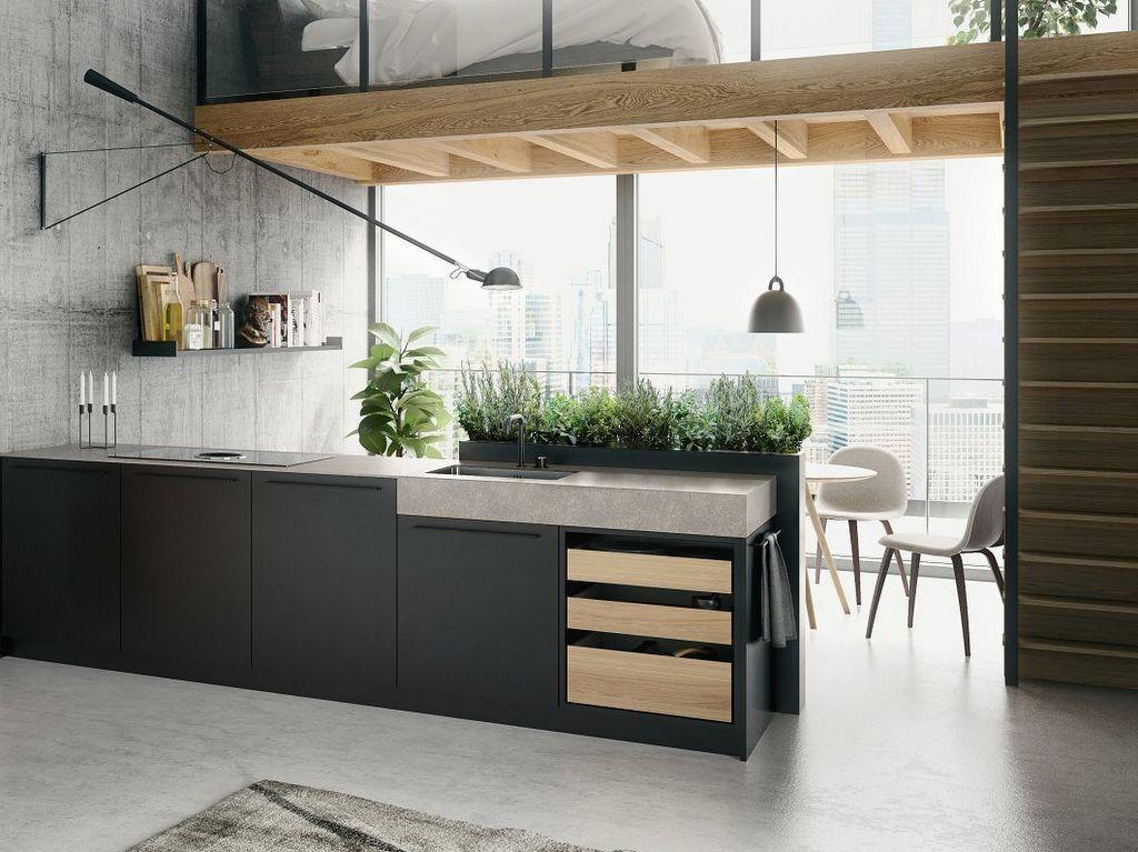 Un potager intégré dans la cuisine - Joli Place