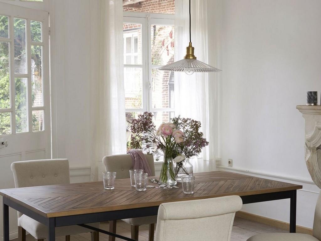 o trouver une suspension en verre textur joli place. Black Bedroom Furniture Sets. Home Design Ideas