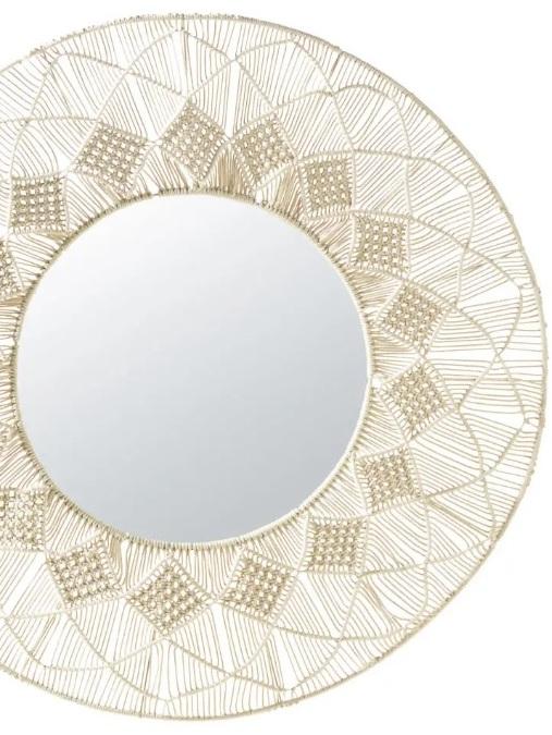 Miroir raphia ou miroir macramé, le match déco - Joli Place