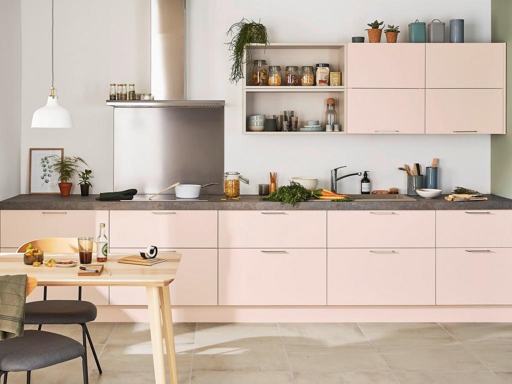 Cuisine Rose Poudré : des id es pour oser une cuisine rose poudr joli place ~ Melissatoandfro.com Idées de Décoration