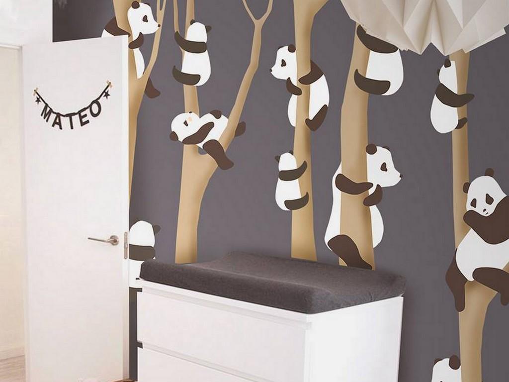 Papier Peint Chambre Fille Ado le papier peint little hands pour les chambres d'enfants