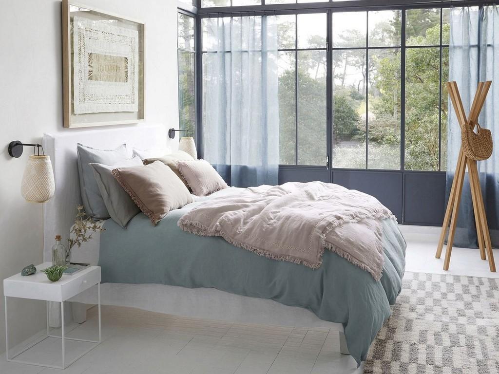 Chambre bleu gris : des idées pour la décorer - Joli Place