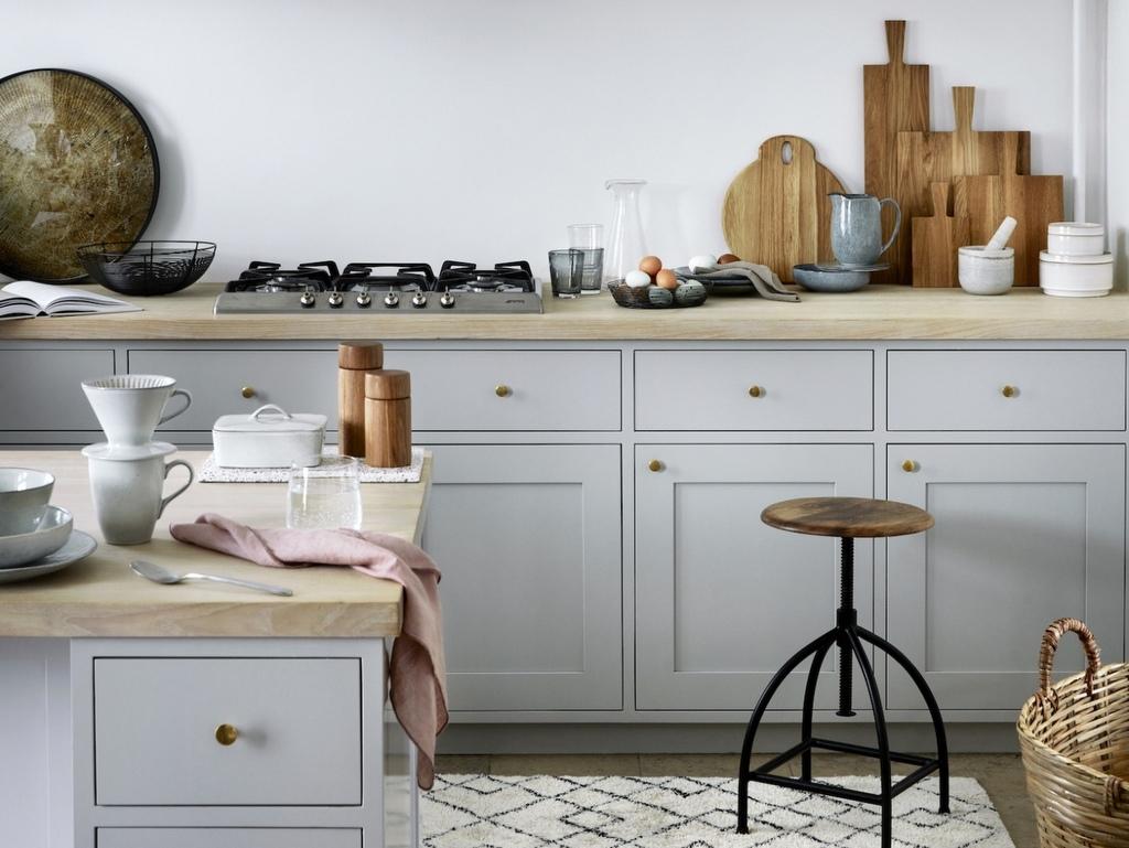 Photo Cuisine Bois Clair cuisine gris clair : nos inspirations déco - joli place