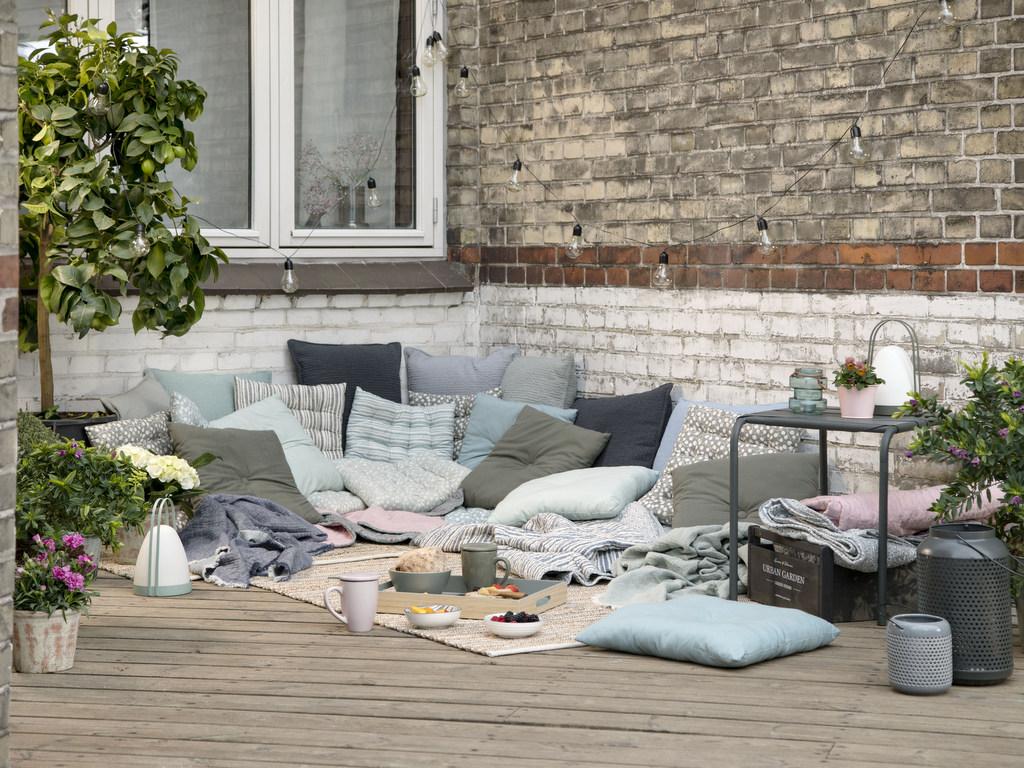 Des idées pour une terrasse à la déco bohème - Joli Place