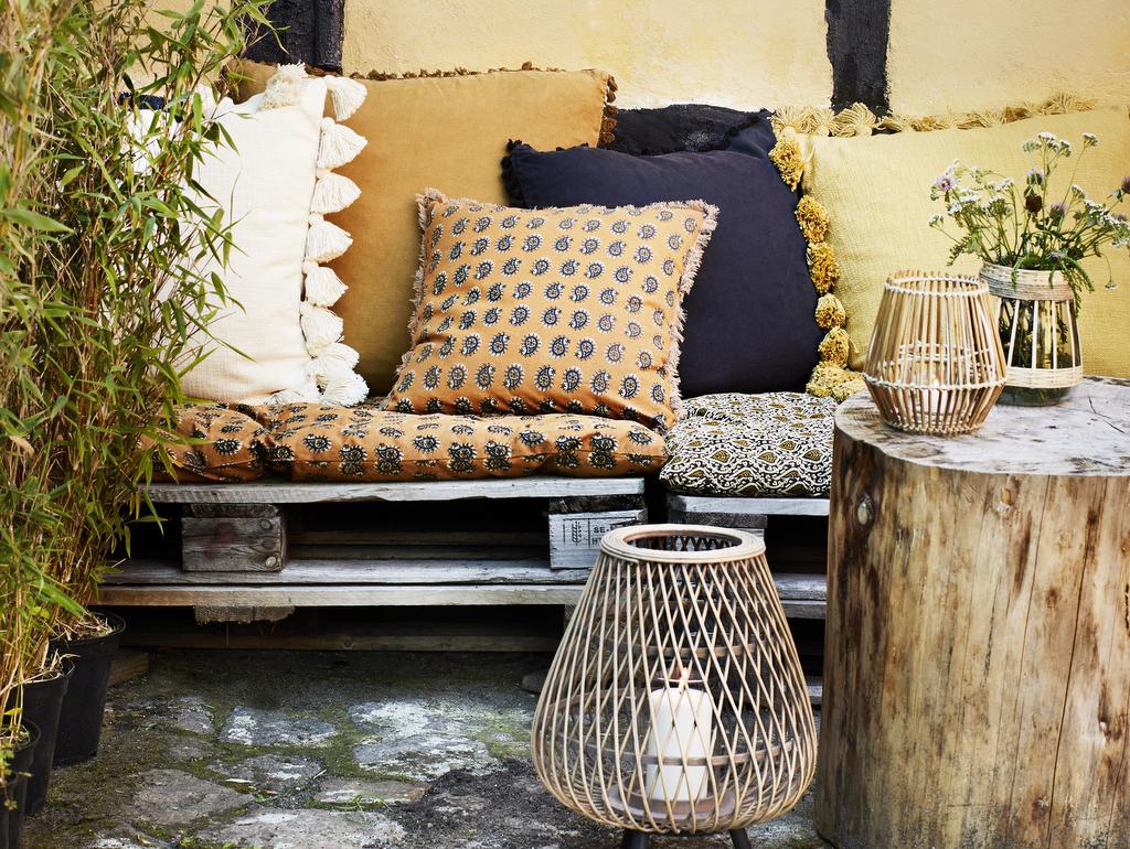 Deco Petite Terrasse Exterieur un coin repos sur une terrasse déco bohème - joli place