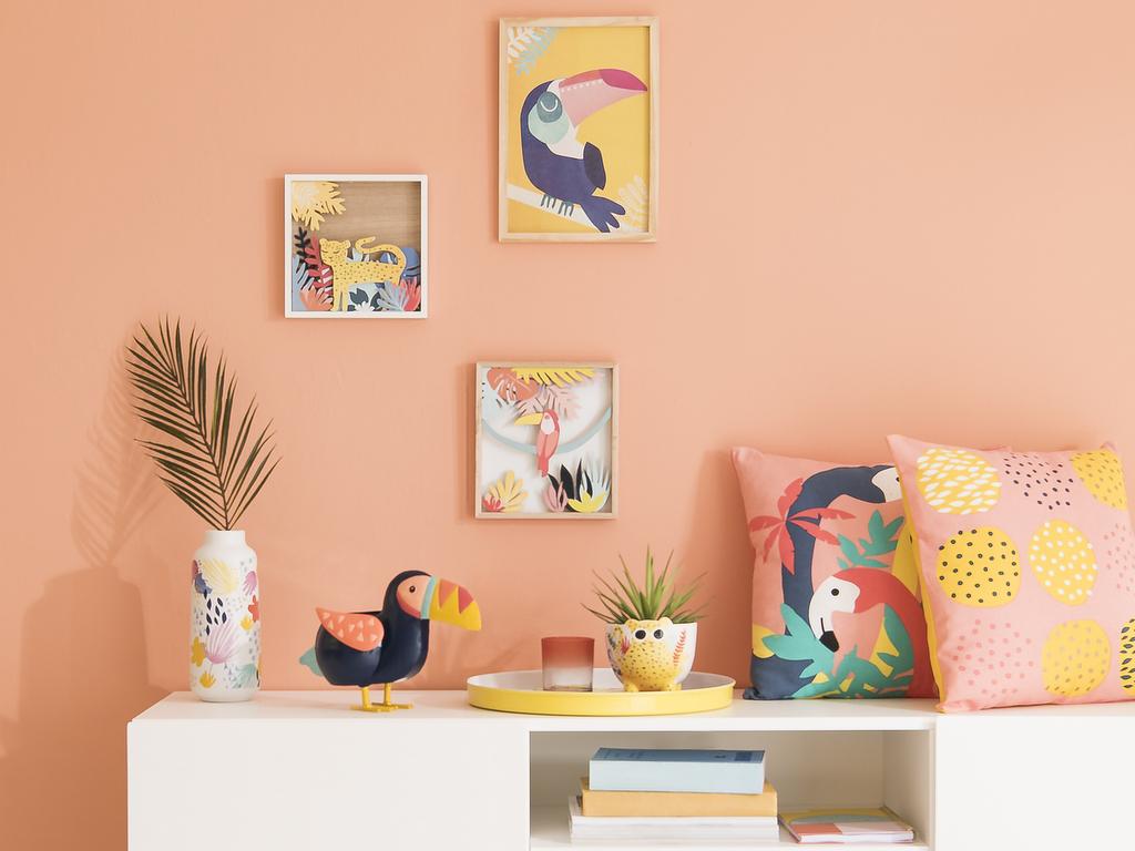Une Chambre De Fille A La Deco Tropicale Joli Place