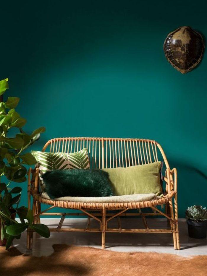 10 Inspirations Déco Couleur Bleu Canard Joli Place