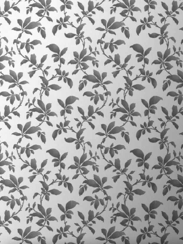 La tendance du papier peint végétal noir et blanc - Joli Place