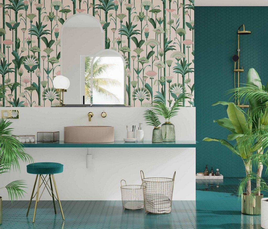 Couleur Vert Salle De Bain 10 inspirations déco couleur bleu canard - joli place