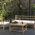 Bohème chic, le salon de jardin en bambou - Joli Place