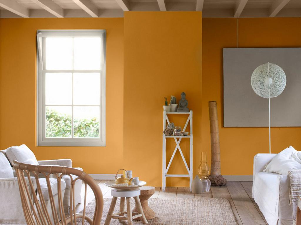 Une déco couleur ocre orangé : place au soleil dans la maison - Joli Place