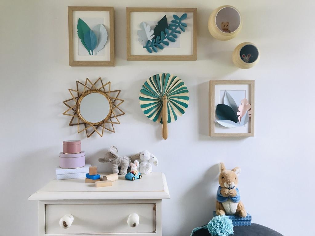 cr er un mur de cadres sans percer ni ab mer joli place. Black Bedroom Furniture Sets. Home Design Ideas