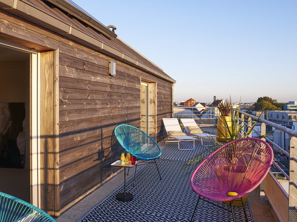 Une maison sur les toits à Nantes - Joli Place