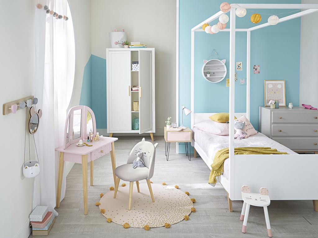 Chambre Bleu Ciel Et Lin joli place - faites le plein d'inspirations déco pour la maison