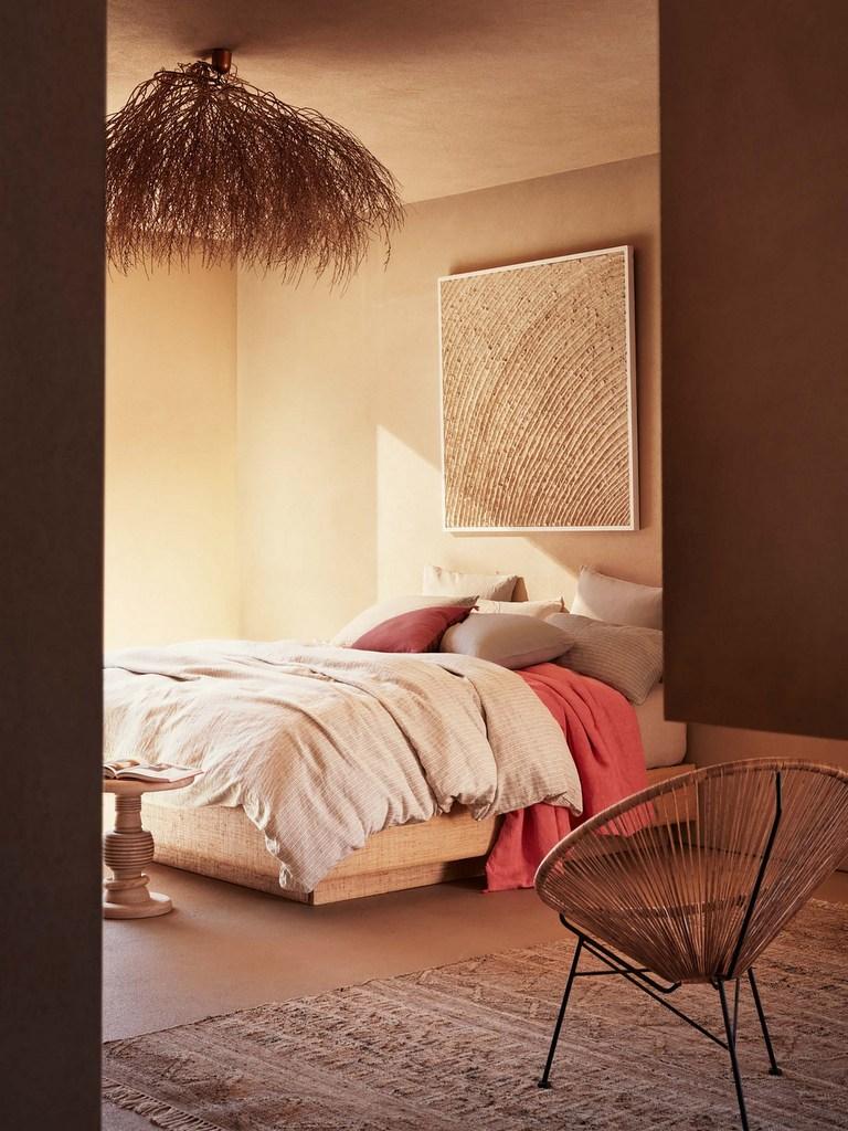 Une chambre couleur terracotta - Joli Place
