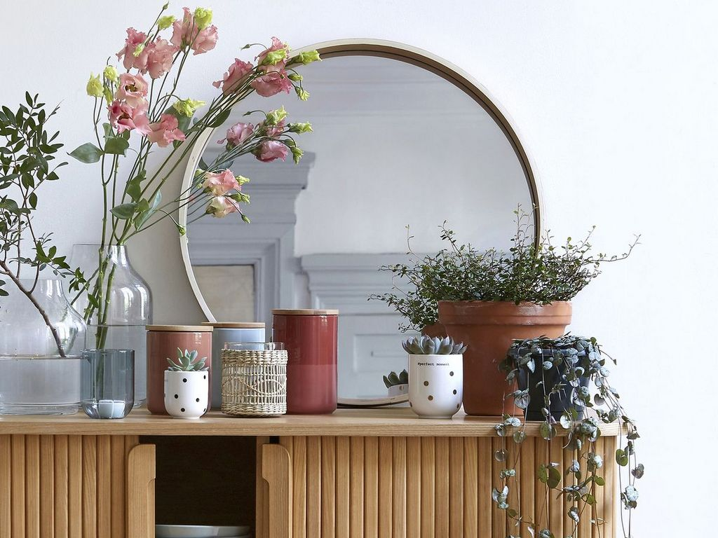 Idee Deco Entree Salon adoptez un grand miroir rond - joli place