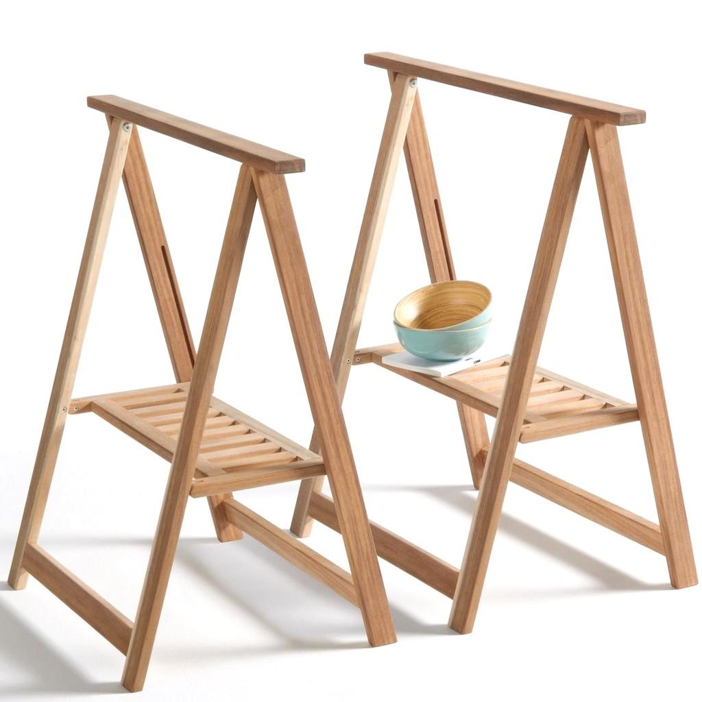 tréteaux pliants en bois