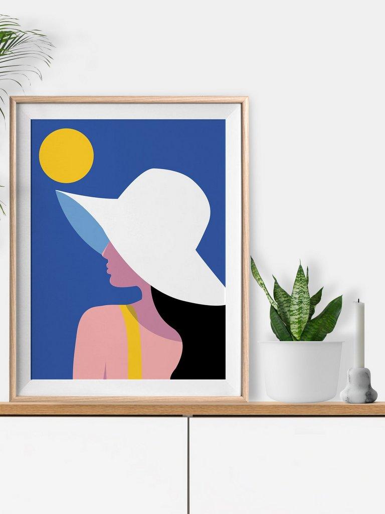 Surf ou piscine : les affiches graphiques Keeler & Sidaway - Joli Place