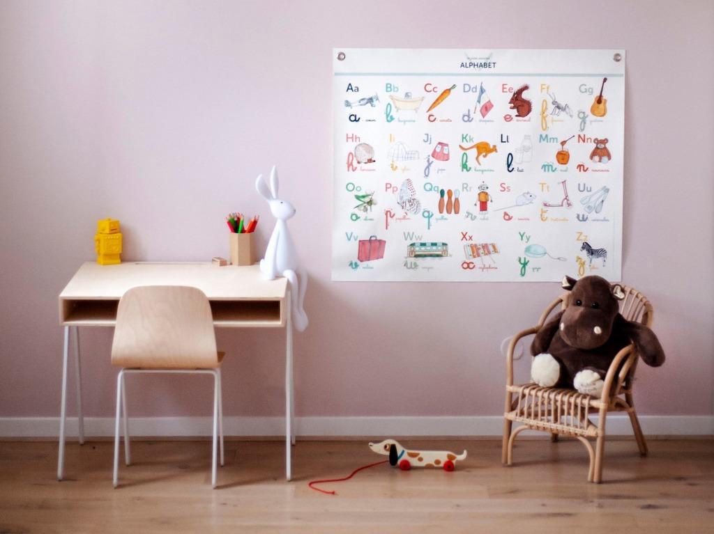 Une planche pédagogique dans la chambre - Joli Place