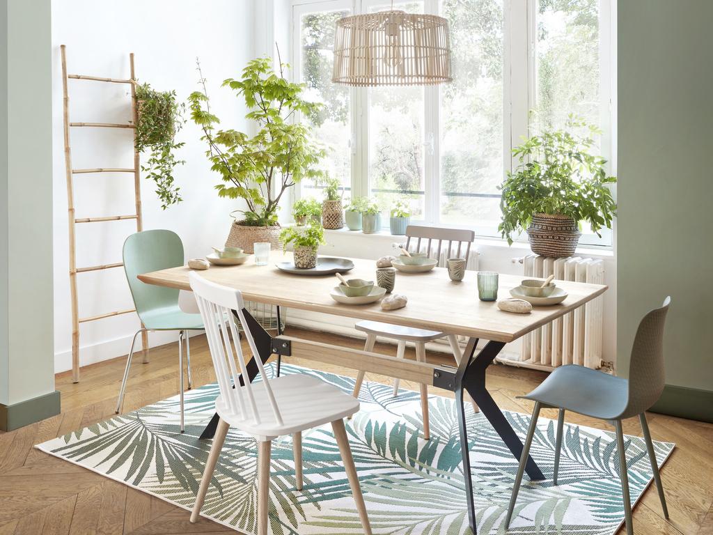 Nos Idees Deco Pour Une Salle A Manger Verte Joli Place
