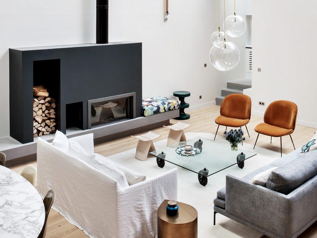 Un atelier d'artiste transformé en maison - Joli Place