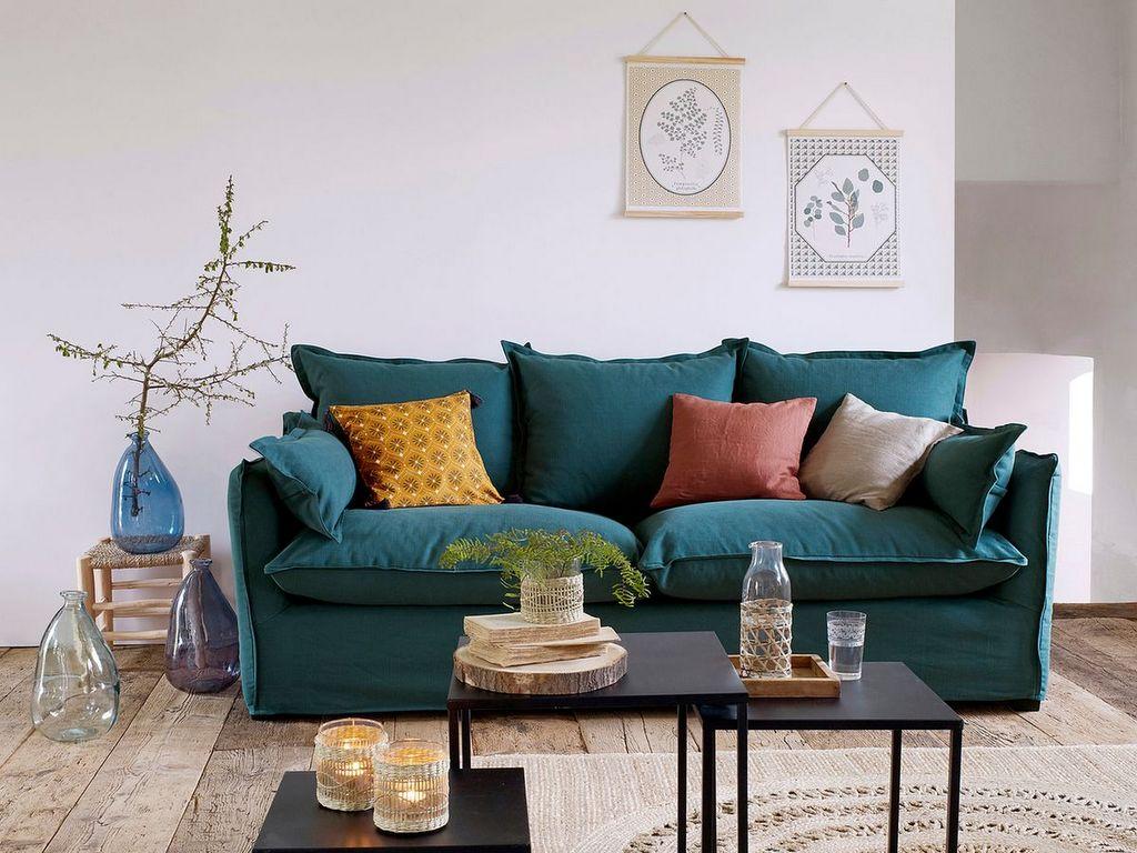Canapé Campagne Chic Pas Cher joli place - faites le plein d'inspirations déco pour la maison