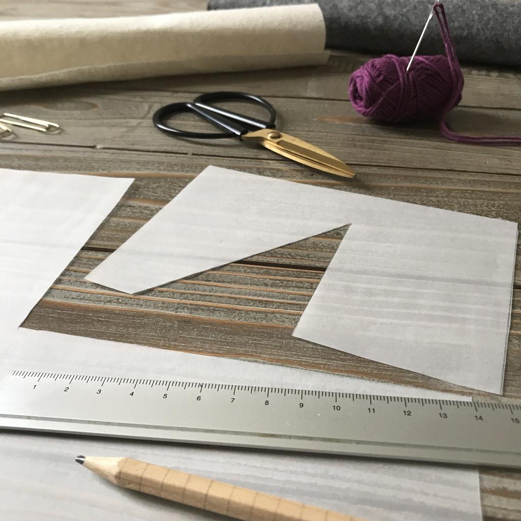 DIY : Fabriquer un panier en feutrine - Joli Place