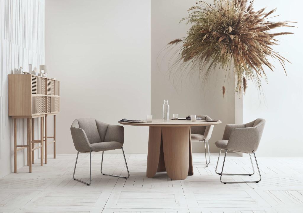 Tendance, la table à pied colonne - Joli Place