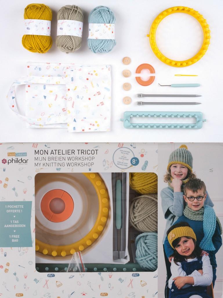 Les kits DIY Phildar pour enfants et ados - Joli Place