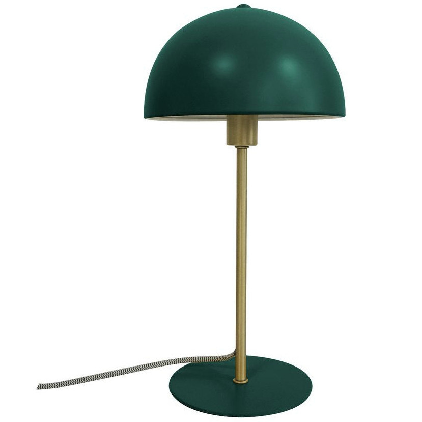 lampe métal vert foncé