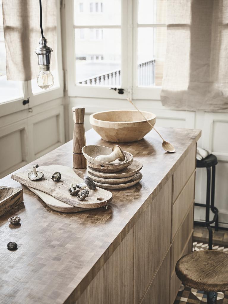 La cuisine beige mise sur le naturel - Joli Place