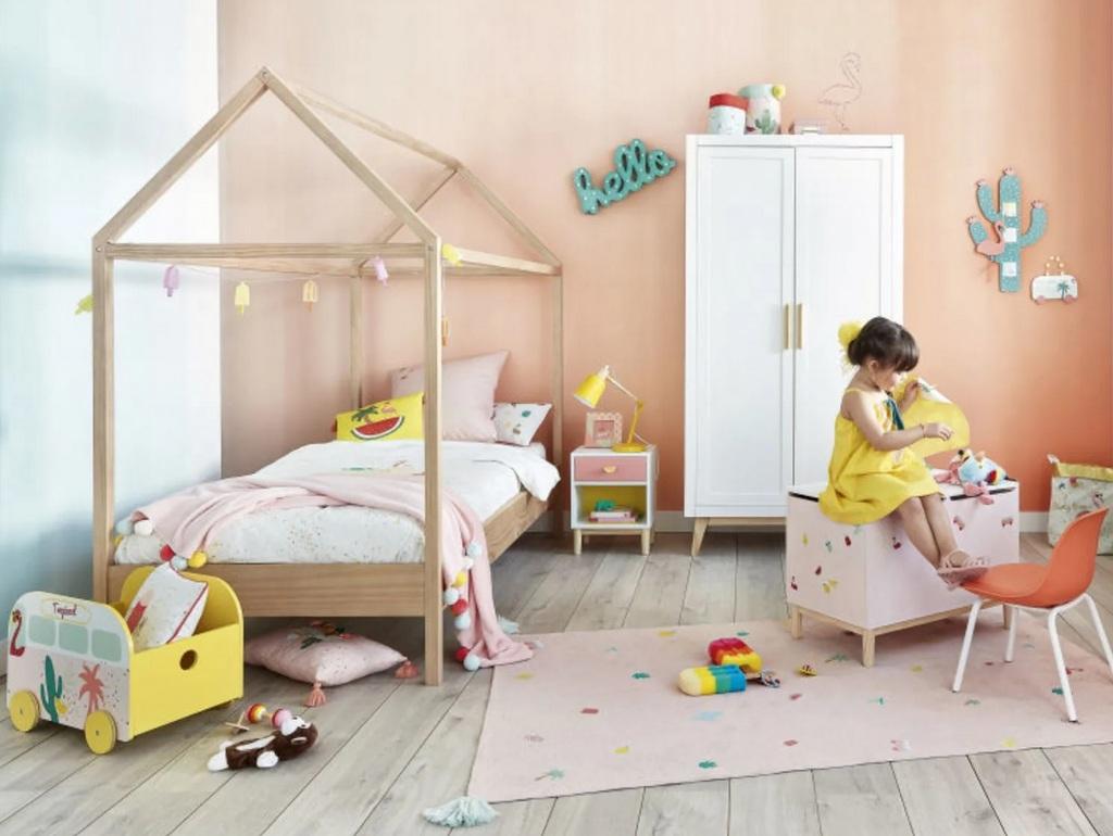 7 chambres d'enfant avec un lit cabane - Joli Place