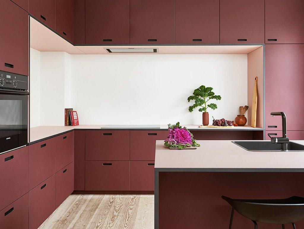 Une cuisine rouge mat : le bon choix déco - Joli Place