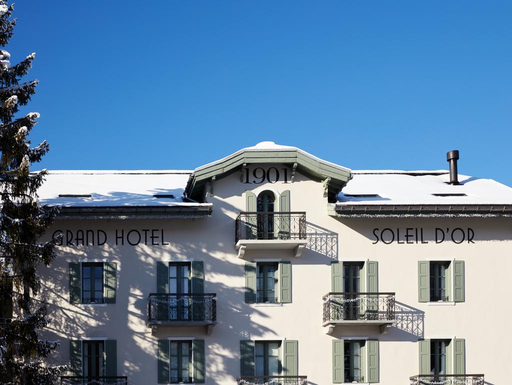 Le Grand Hôtel du Soleil d'Or à Megève - Joli Place