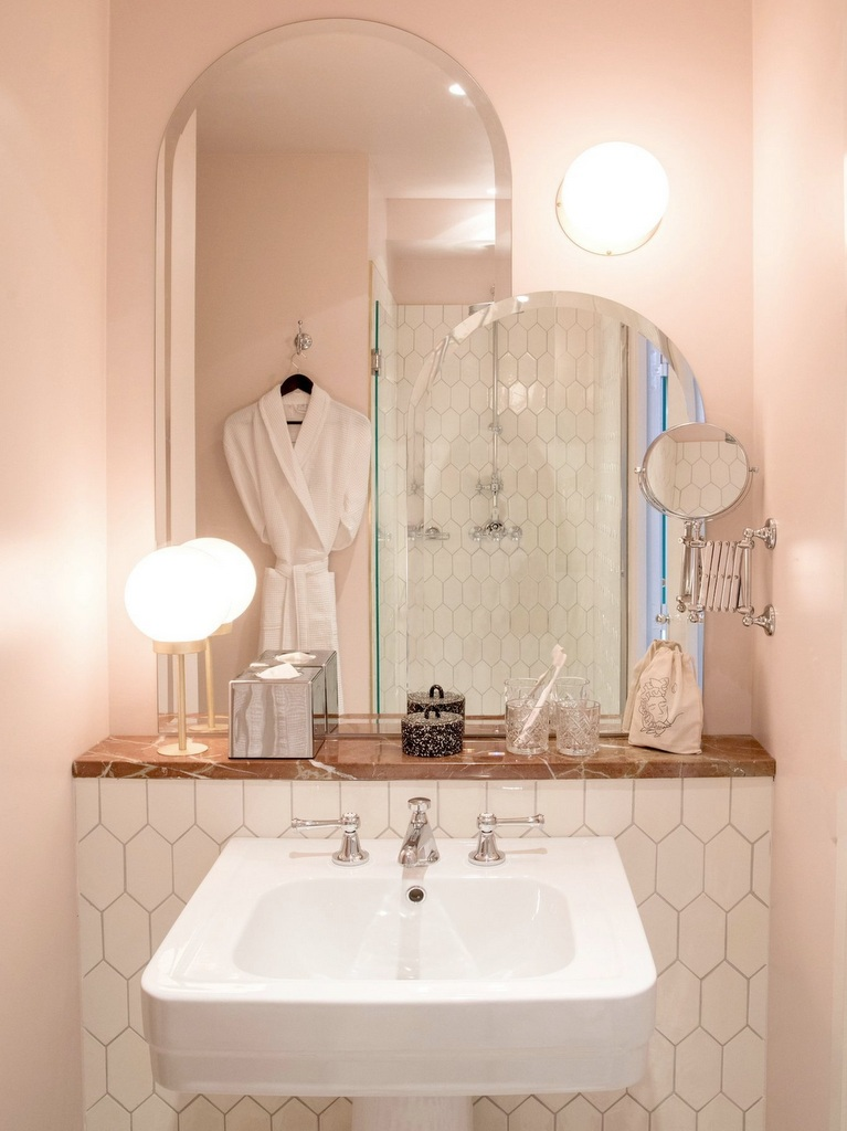 Osez la salle de bain rose poudré - Joli Place