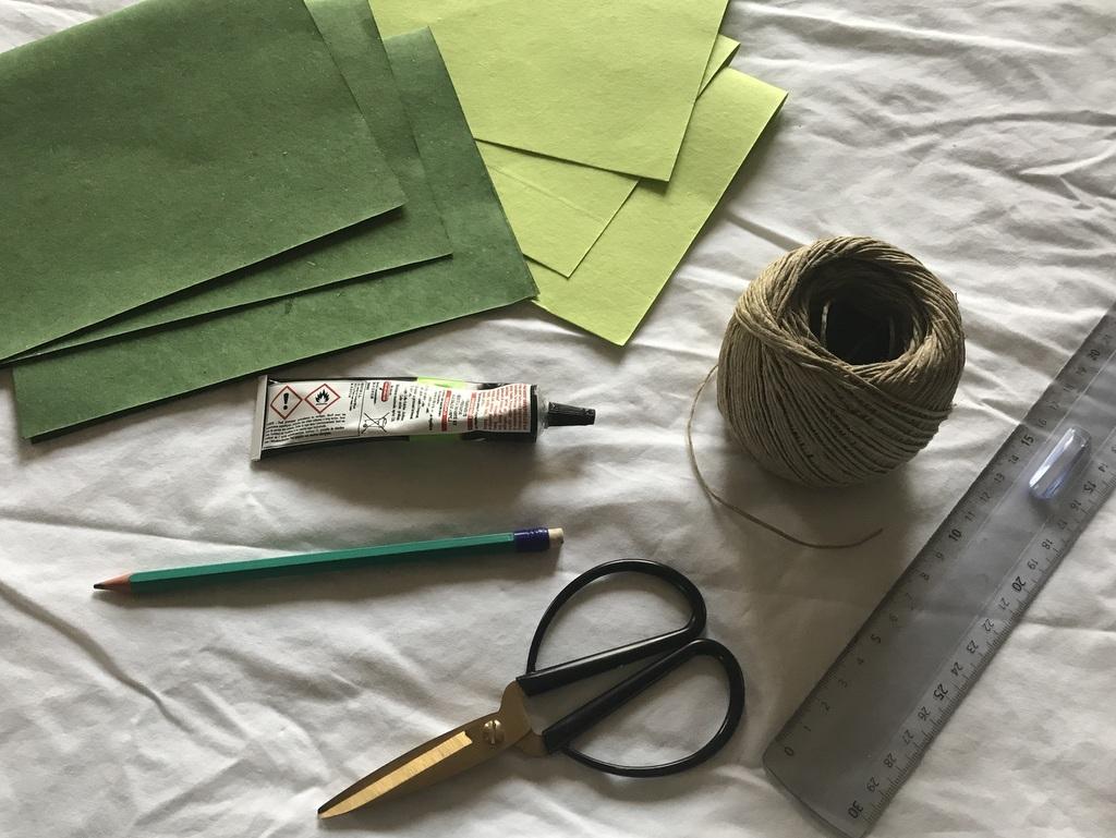 Comment fabriquer une plante en papier - Joli Place