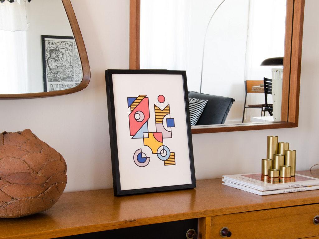 Les affiches Bauhaus de Klaxon Designers - Joli Place