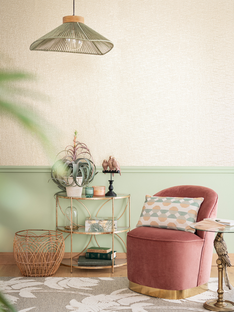 Deco Chambre Style Exotique une déco exotique chic en rose et vert - joli place
