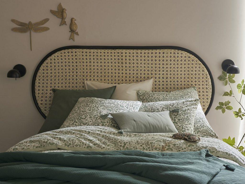 Où trouver une tête de lit en cannage - Joli Place