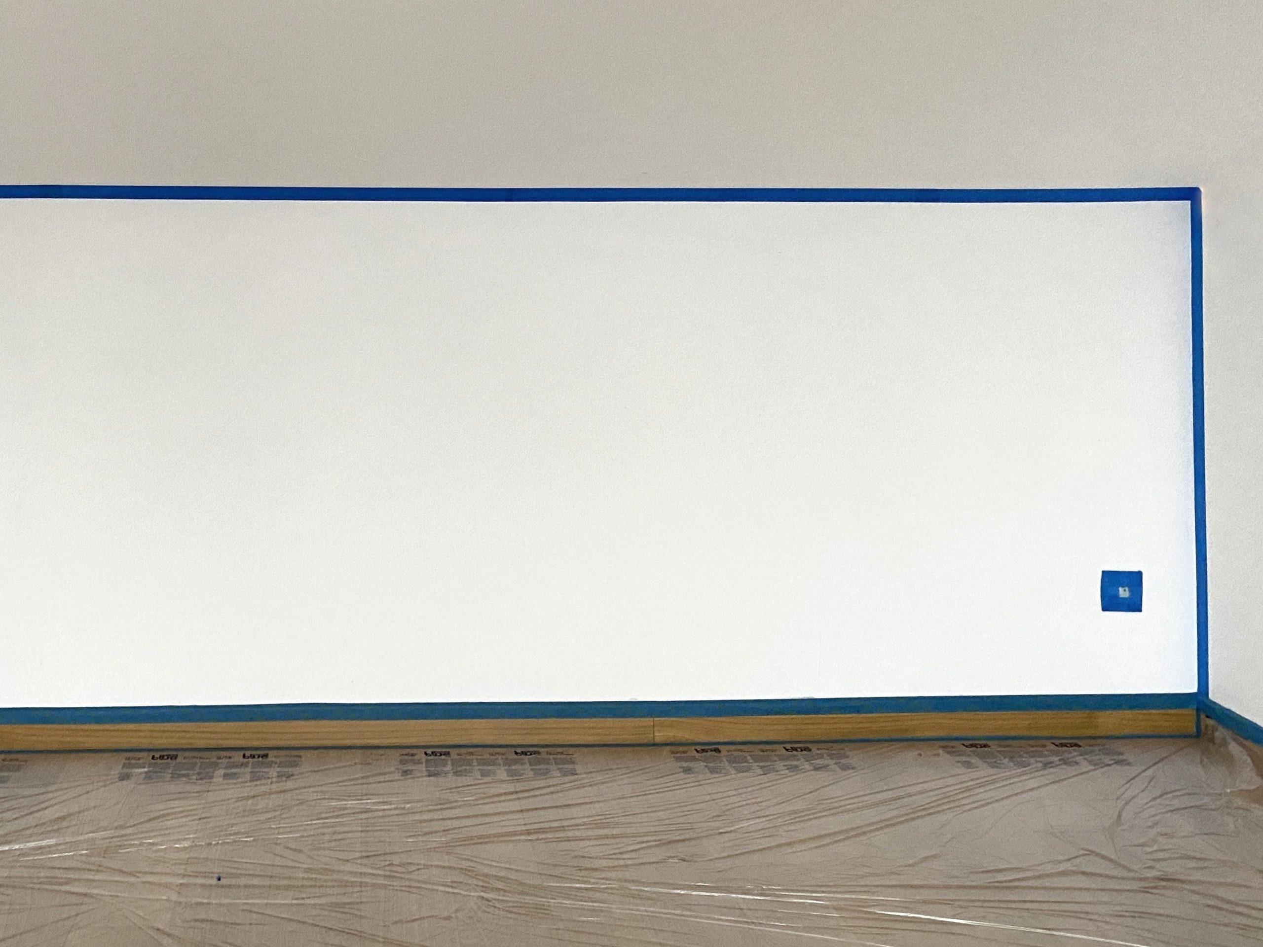 Peindre un soubassement dans une chambre mansardée - Joli Place