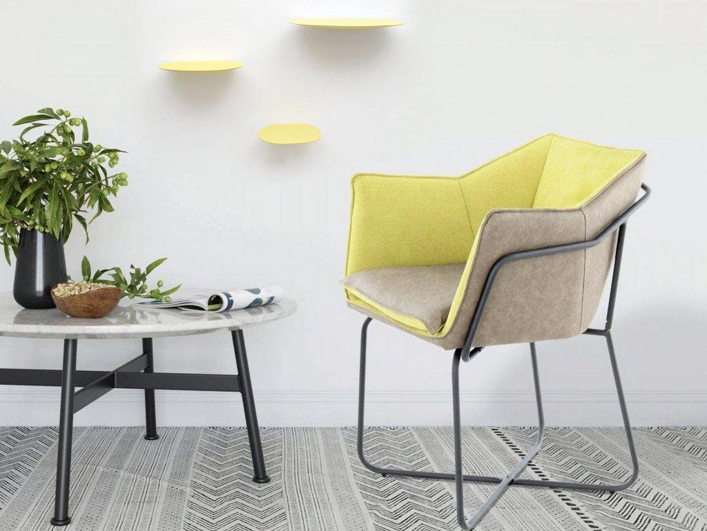 Fauteuil jaune citron : osez la fantaisie - Joli Place