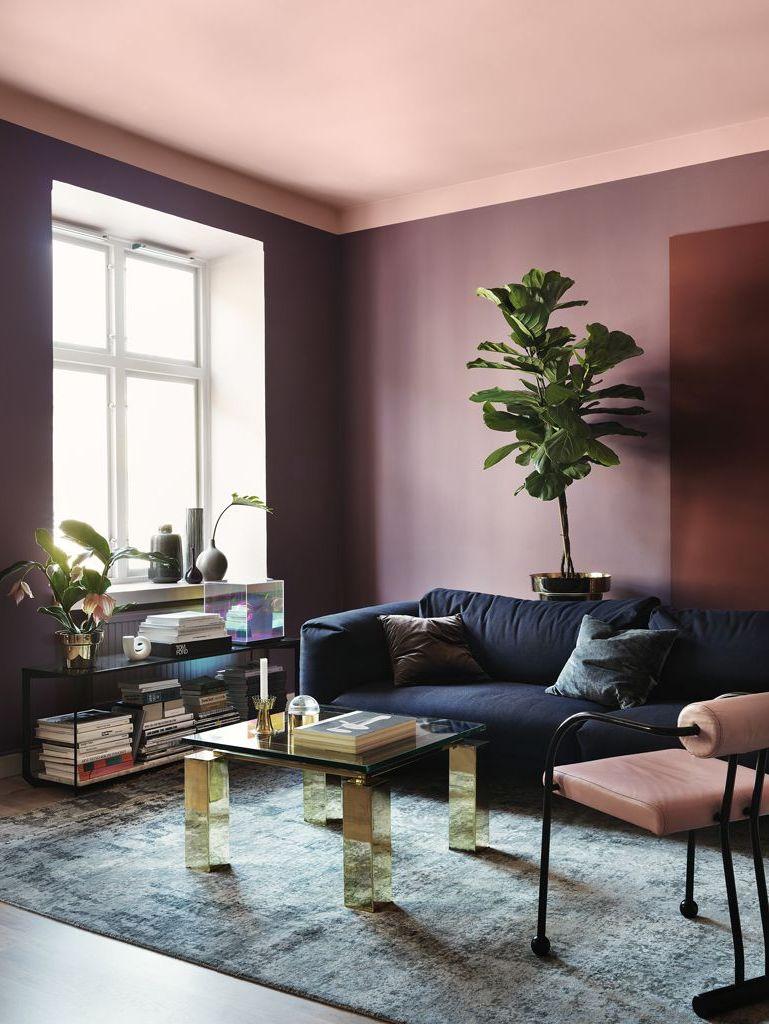 Un plafond peint en couleur - Joli Place