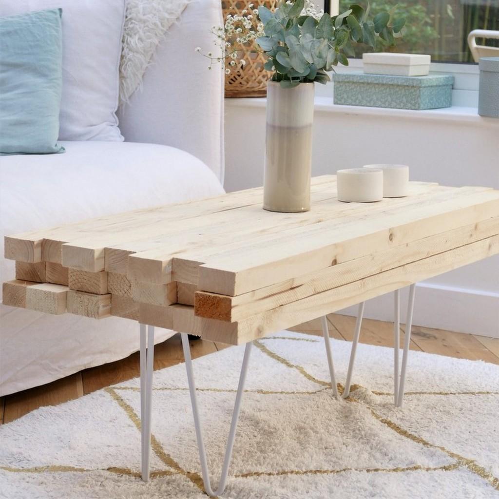 La fabrication express d'une table basse - Joli Place