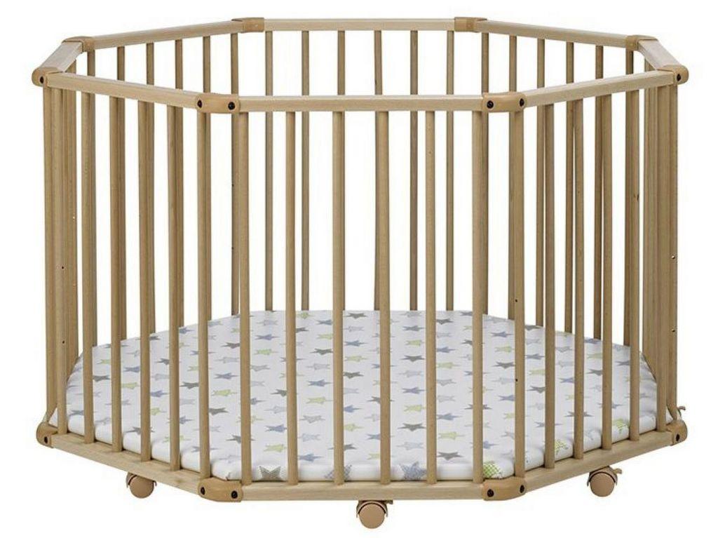Où trouver un parc bébé pliable en bois - JOLI PLACE