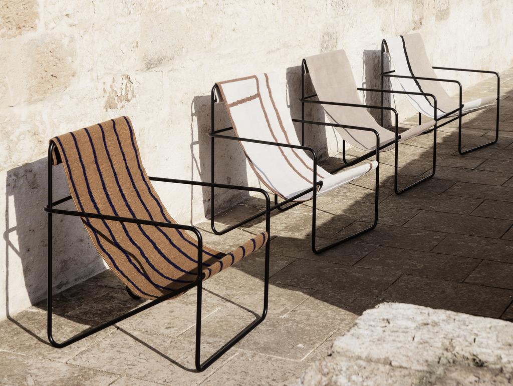Le fauteuil de jardin ethnique chic vu par Ferm living - Joli Place