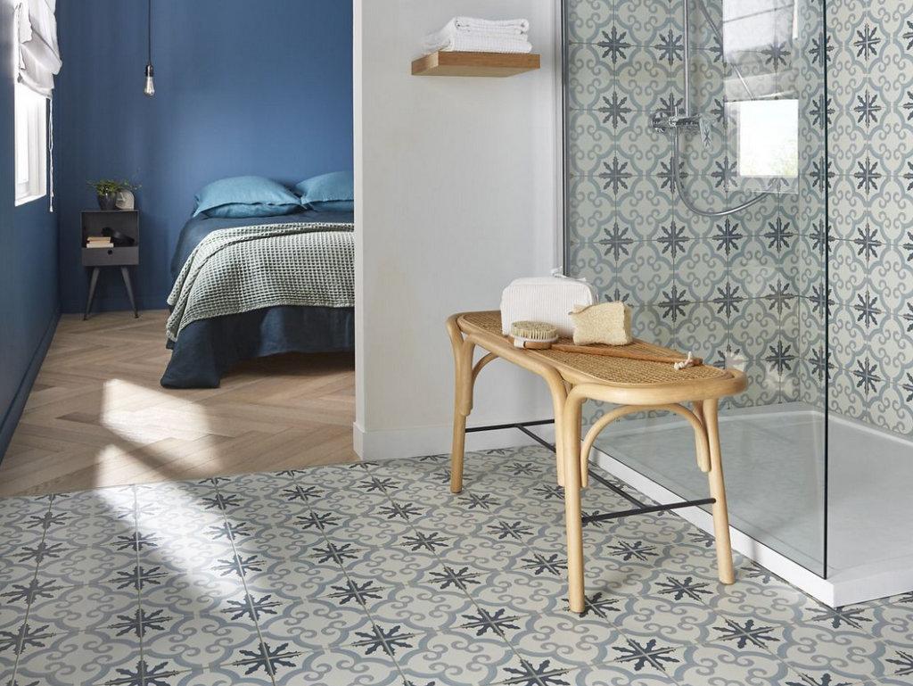 6 salles de bain, 1 modèle de carreaux de ciment - Joli Place