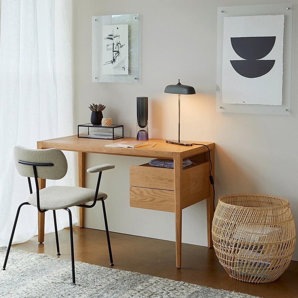 bureau design bois